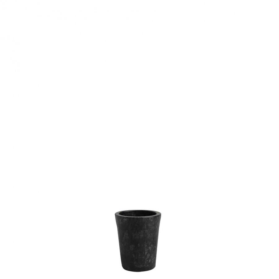 Bicchiere pietra nera d8h9