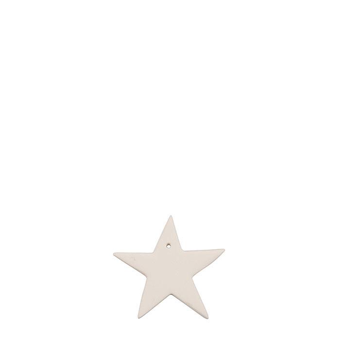 Diffusore in gesso stella 5 cm