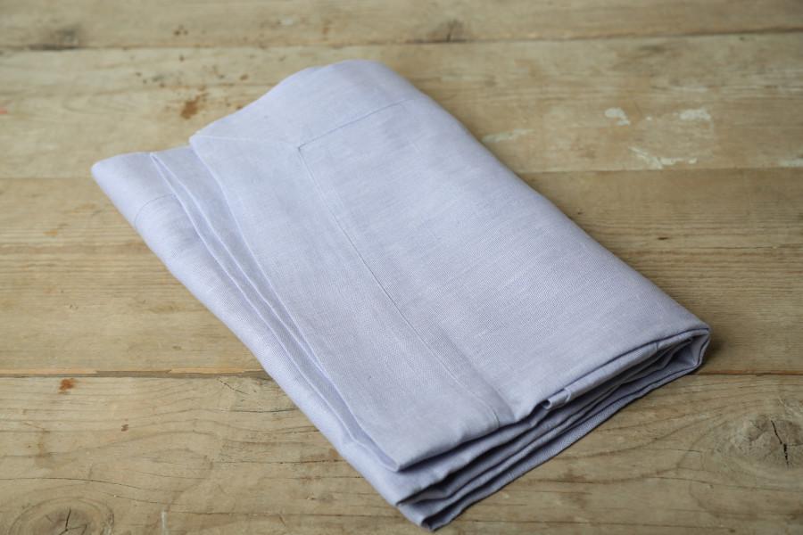 Tovaglia 100% lino lilla 160 x 270 cm