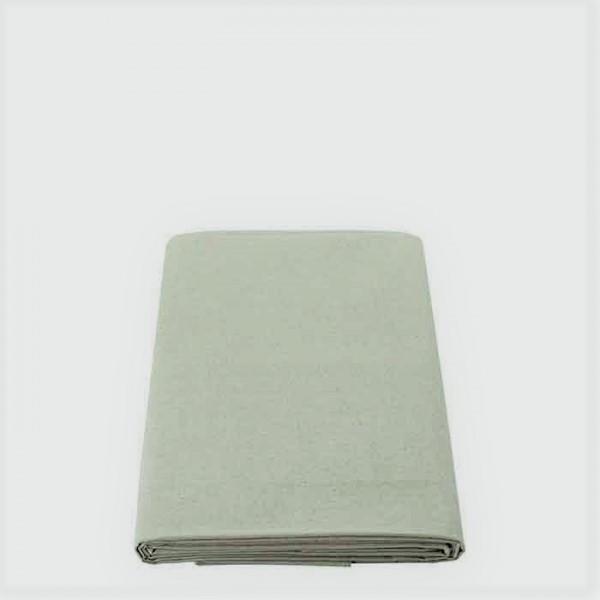 Tovaglia 100%lino colore salvia 160x160 cm