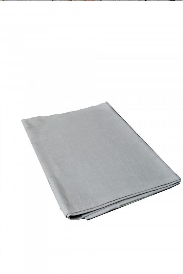 Tovaglia og 55%lino 45%cotone colore madreperla 150 x 150 cm
