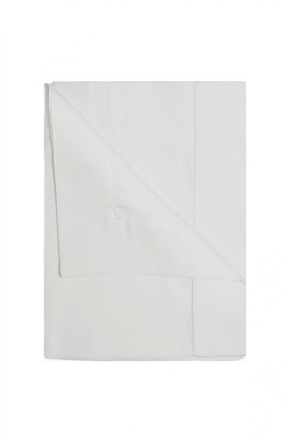 100%linen tablecloth pearl colour 160x270 cm