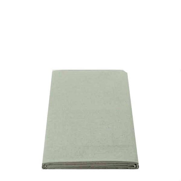 100% linen tablecloth sage colour 160x160 cm