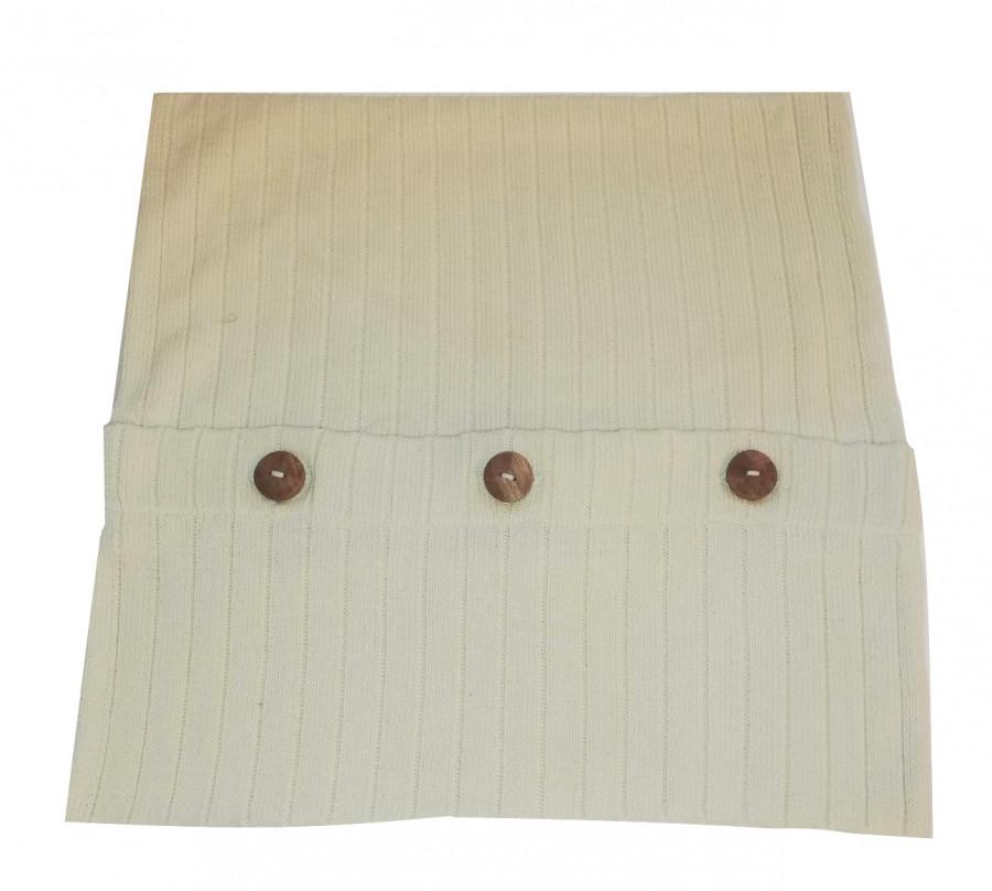 Fodera maglia cotone panna seconda scelta 40 x 40 cm