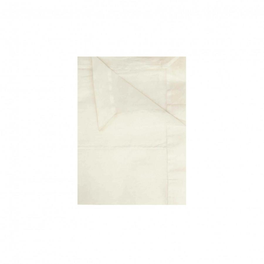 Tovaglia organza colore panna 250 x 150 cm