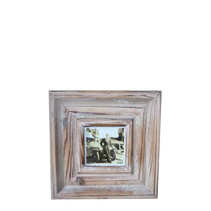 Cornice legno grezzo 24 x 24 cm