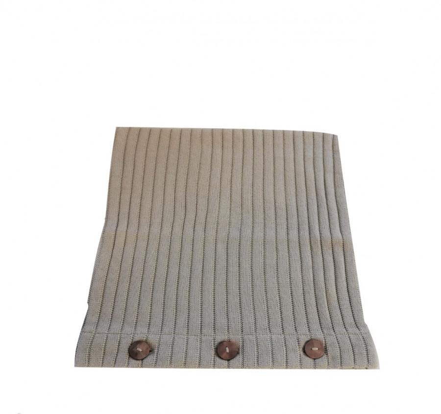 Fodera maglia cotone grigio chiaro seconda scelta 40 x 40 cm