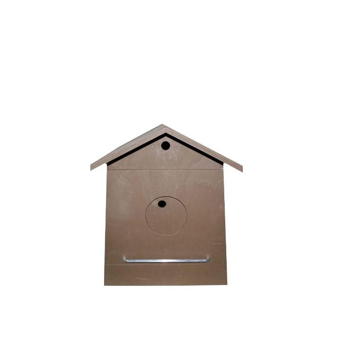Casetta uccellini maxi apribile marrone chiaro 50 cm