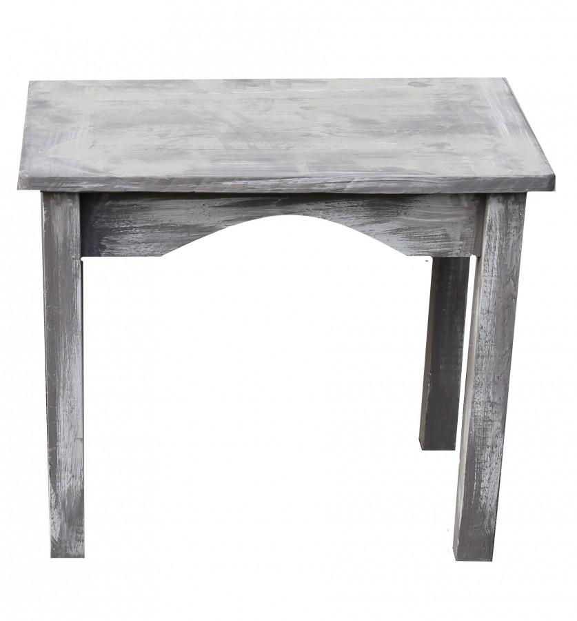 Tavolino vintage in legno bistrot 60 x 38 h50 cm