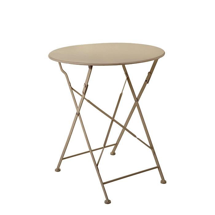 Tavolo ferro lino jardin d59,5h70
