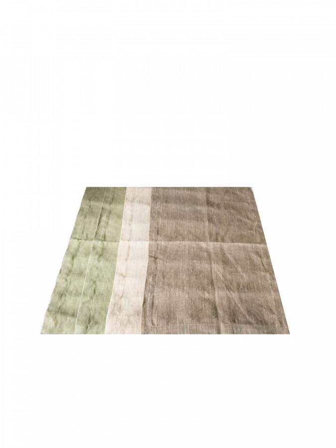 Set 4 tovagliette 100%lino colore chiaro 37x50 cm