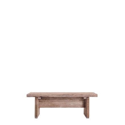 banc en bois brut 120 x 35 h43 cm. Black Bedroom Furniture Sets. Home Design Ideas
