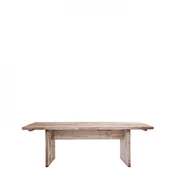 Raw plank table 90x180xh74 cm