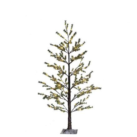 Snowy light tree 126 led out/indoor use h180 cm